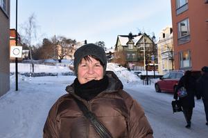 Callie Gauffin, 55 år: – Ja. Jag är egenföretagare i städbranschen och jag vet inte hur länge min kropp orkar med, så för mig är det viktigt att hålla koll på pensionen och nya beslut kring pensionsfrågor.