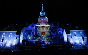 Ljusshow blir det även under årets VM i skidskytte, men inte riktigt i samma stil som 2008.