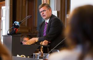 Sven-Erik Lindestam (S), kommunstyrelsens ordförande, Söderhamns kommun.