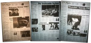 VLT:s bevakning av mästerskapet 4, 5 & 8 februari 1999.
