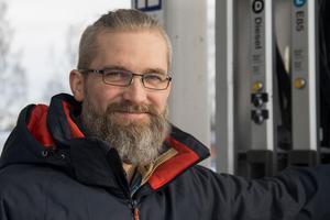 Mattias Ekström är glad att snart närma sig ett mål.