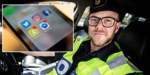 Thomas Nordström är kommunpolis i Avesta. Foto: Anton Ryvang/TT
