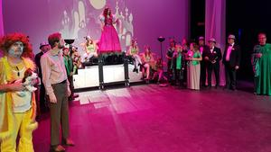 Repetition av Trollkarlen från Oz som har nypremiär 20 oktober på Estrad. Foto: Lars-Gunnar Thor