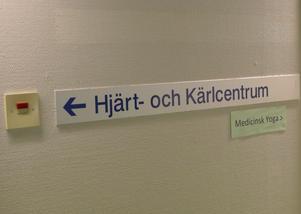 Hjärt- och kärlcentrum i Södertälje.