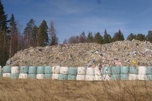 Sopberget i Röfors, fotograferat i mars i år.