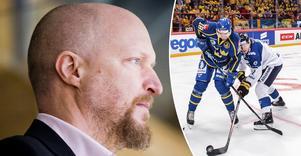 Örebro Hockeys sportchef Niklas Johansson har landat en finsk back med landslagsmeriter. Robin Salo kan debutera redan på lördagen. Bild: Johan Bernström/Bildbyrån