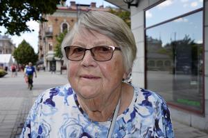 Ingrid Johansson, 88, pensionär, Skönsmon: