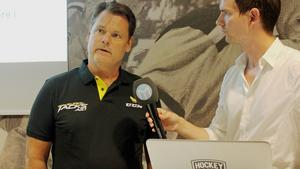 Lars Ivarsson, ny assisterande tränare i VIK Hockey.