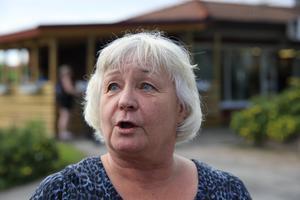 Hagar Löfgren menar att det pensionssystemet som vi har nu är vår tids ättestupa. Hon vill nu kämpa för att barn och barnbarn ska få det bättre när de blir gamla.