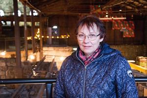 Lena Jonsson är föreståndare på Verket/Avesta art. Hon och fyra till sköter förberedelserna inför marknaden.