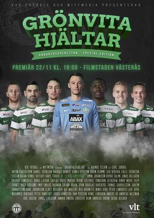 Affischen kommer inom kort synas utanför Filmstaden i Västerås. Avsnittet har premiär på sajten samma dygn som den exklusiva visningen.