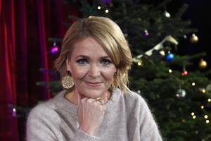 Kattis Ahlström är årets julvärd på SVT. Arkivbild. Bild: Fredrik Sandberg/TT