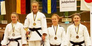 Stefanie Biedron, till vänster, blev tvåa. Bild: Wolfgang Biedron/läsarbild