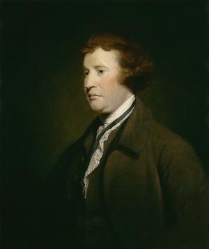 Konservatismens fader Edmund Burke. Målning av Joshua Reynolds från 1769.