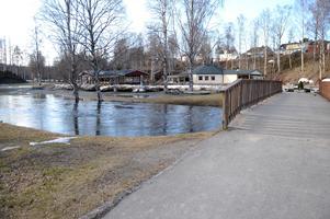 Vårens översvämningar. Foto: Arkiv