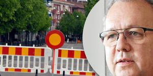 Janne Andersson, trafikchef, konstaterar att flera vägprojekt sammanfaller
