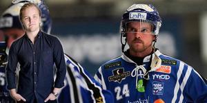 Martin Johansson, som missade lyftet när Motala kvitterade sent, och Villa får vänta på att definitivt säkra seriesegern.