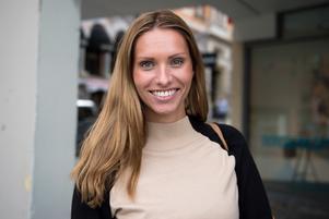 Sonja Forslin, 30, egenföretagare, Stockholm: