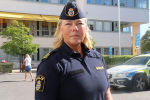 Christina Hallin Presstalesperson Polisen Bergslagen.