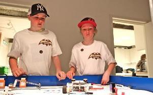 Pontus Johansson och Vidar Lindberg kom på tredje plats i tävlingen.