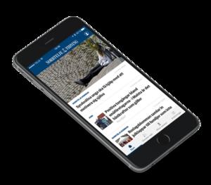 Följ senaste nytt i NT:s app.