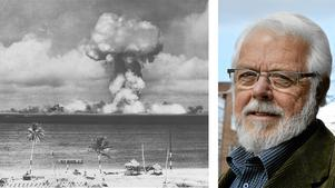 Anders Svärd (C) skriver varför kärnvapen ska bannlysas. På bilden genomför USA ett  kärnvapenprov på Bikiniatollen 1946.