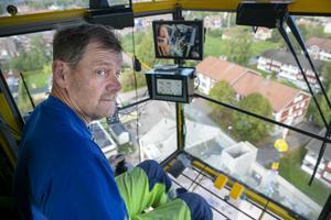 """""""Det är skönt att vara på hemmaplan"""", säger Anders Glad."""