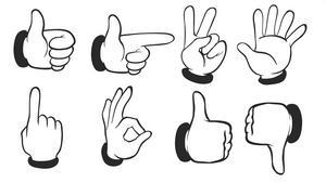Arm-, hand- och fingerrörelser och övrigt kroppsspråk utgör en stor del av hur vi kommunicerar med varandra, påpekar insändarskribenten.