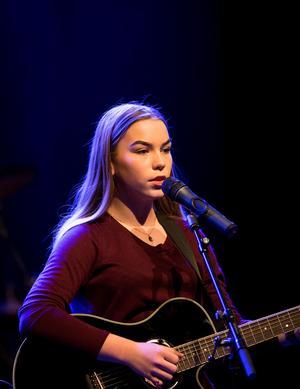 Jonna Blomqvist från Örnsköldsvik kommer till regionfinalen i Sollefteå. Bild: Tommy Engström.