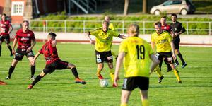 Köping FF – Arboga Södra IF, derby 5 juni 2019. Köpings IP.