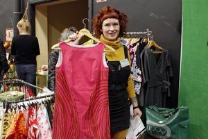 Maja Hamelius från Eskilstuna har en butik i Retuna återbruksgalleria. I Västerås sålde hon