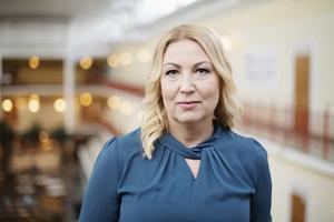 Johanna Jaara Åstrand, förbundsordförande, Lärarförbundet. FOTO: Izabelle Nordfjell