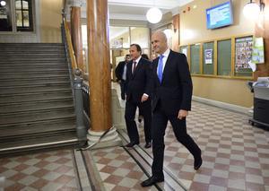 Varken Fredrik Reinfeldt (M) eller Stefan Löfven (S) har som statsministrar förverkligat riksdagsbeslutet om att Sverige ska erkänna seyfo, folkmordet i osmanska riket som just ett folkmord. Foto: Henrik Montgomery/TT