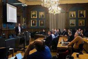 På kommunstyrelsens möte i Söderhamn gav Trafikverket information om de planerade åtgärderna på riksväg 50.