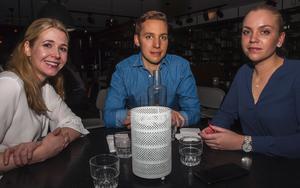Brasseriet. Fiola, Markus och Hanna. Foto: Fabian Zeidlitz