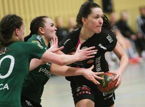 Maja Allgulander är en svårstoppad måldrottning i division 1.