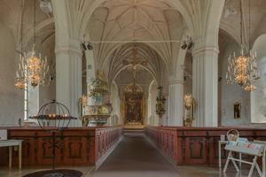 Stor Tuna kyrkas rika inre. Foto: Arild Vågen