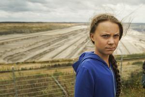 Naturen är lika viktig för mig som för Greta Thunberg och de tyska ungdomarna, skriver Birger Hansson i sin insändare. På bilden Greta Thunberg i västra Tyskland 10 augusti i år. Foto: Mstyslav Chernov/TT
