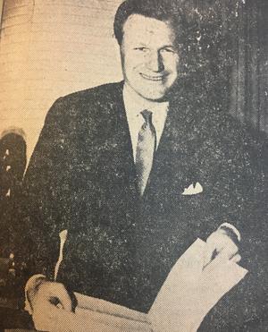 Nelson Rockefeller, från ÖP:s förstasida.