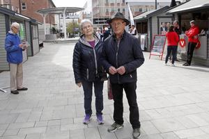 Eva Nygren och Paulus Anttila tänker rösta i EU-valet.