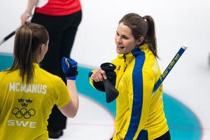 Sara McManus, Anna Hasselborg och kompani är obesegrade efter matchen mot OAR. Foto: Petter Arvidson (Bildbyrån).