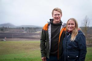 Olle Pallars och Lisa Skoog Dahlman träffades via programmet 2015, nu bor de tillsammans i Järvsö.