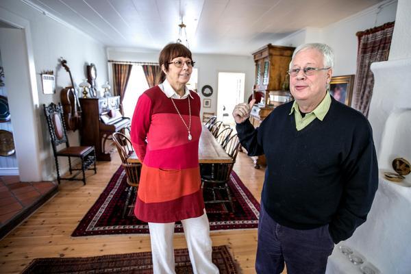 Agneta och Mats Taube hittade till det stora bönehuset via Luleå, England, Danmark och Nordnorge.