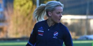 Lovisa Lennartsson hoppade in och fick göra sitt första mål för säsongen.