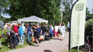 Sällskapet Trädgårdsamatörernas växtmarknad 2018. Foto: Privat