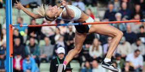 Erika Kinsey blev tvåa i Oslo.