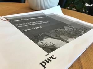 I augusti 2017 fick revisorsfirman PWC uppdrag att göra en genomlysning av NVK:s organisation. Den färdiga rapporten innehåller en rad kritikpunkter.