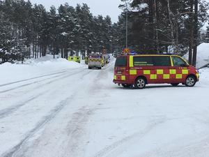 Olyckan inträffade den 9 mars på Södra Fagerviksvägen i Timrå.