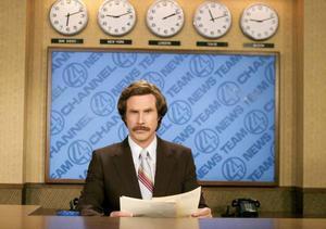 Will Farrell är tillbaka som det originella nyhetsankaret Ron Burgundy.Foto: Frank Masi/AP/TT
