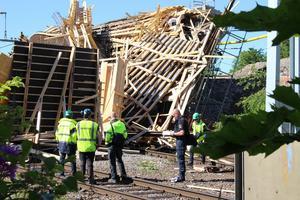 Broolyckan i Ludvika den 13 juli blev en riksnyhet. 12 arbetare skadades och flera av dem är fortfarande sjukskrivna.